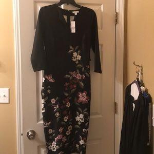 New York & Company floral print dress